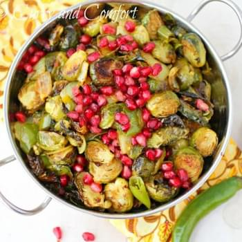 Roasted Brussels Sprouts with Cumin and Chilies