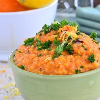 Sweet Potato Quinoa Soup