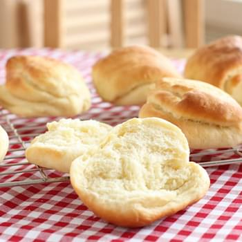 Milk sandwich rolls – Tangzhong method