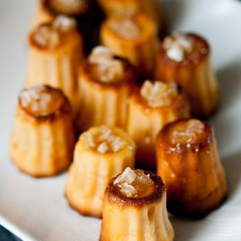 Ginger 'Nian Gao' – Ginger Mochi Cannelés