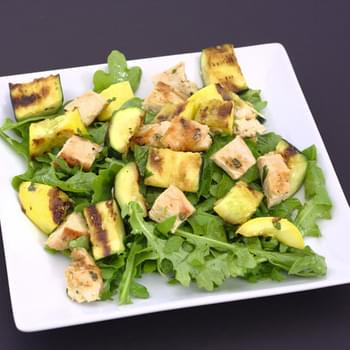 Grilled Chicken and Summer Squash Salad