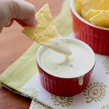 Queso Blanco Dip ~ Spicy White Cheese Dip