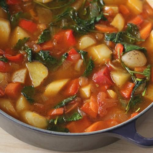 Hearty Fresh Vegetable Soup