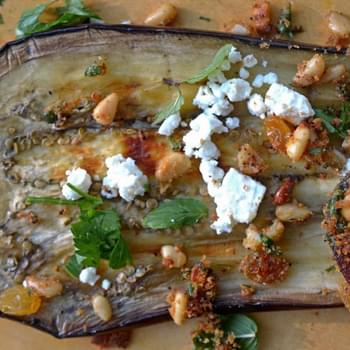Sweet and Savory Grilled Eggplant