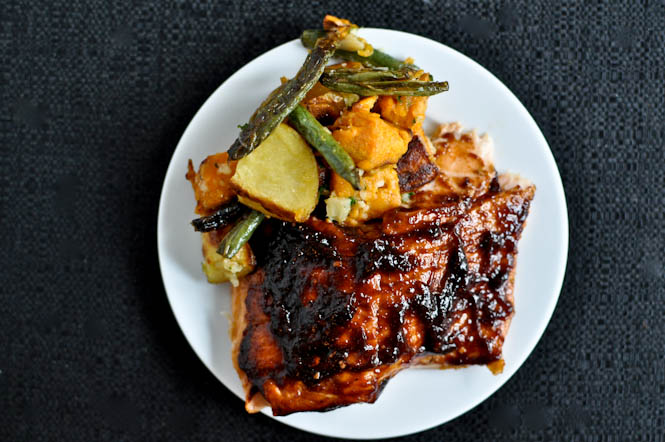 Grilled Blueberry Bbq Salmon Recipe