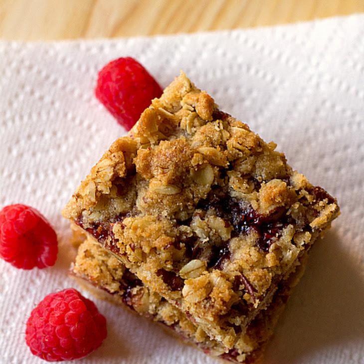 Raspberry Streusel Bars Recipe