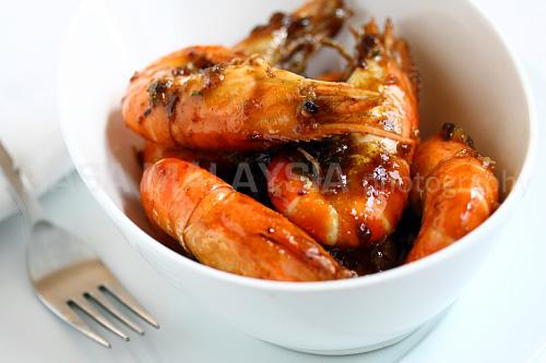 Caramel Shrimp (Vietnamese Tom Rim) Recipe