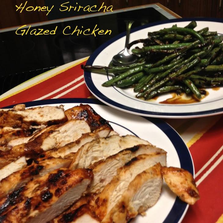 Honey Sriracha Glazed Chicken Recipe