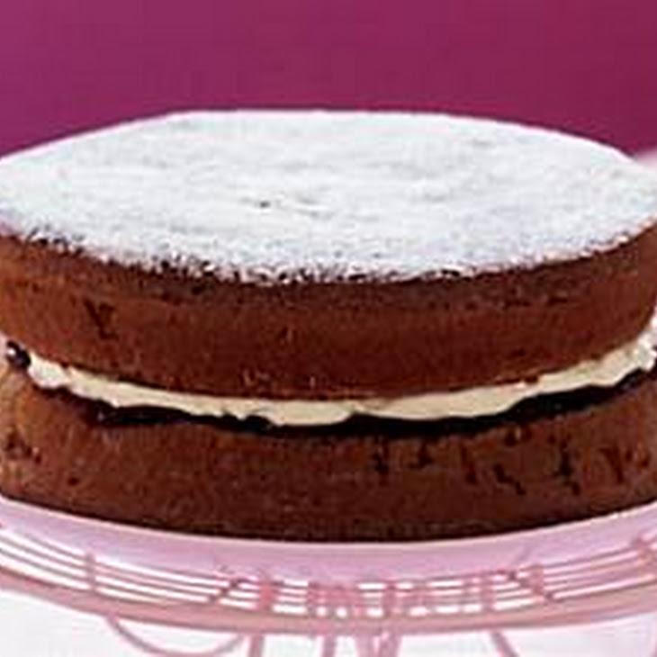 Chocolate Victoria Sponge Cake Recipe