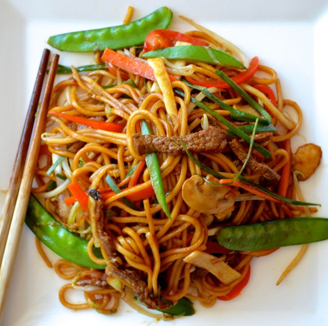 Chinese Food Lo Mein Calories