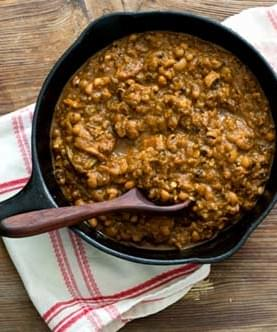 Barbecue Baked Black Eyed Peas Adapted From A Taste Of Texas