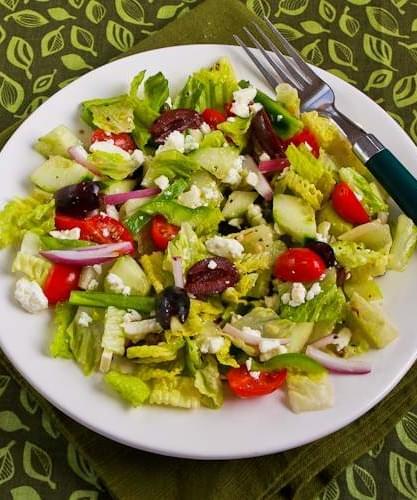 American Greek Salad
