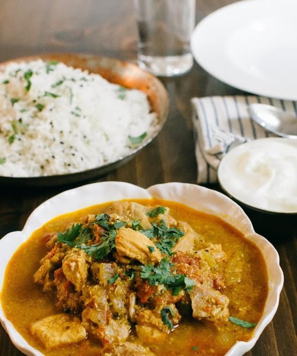 Kerala Coconut Chicken Curry