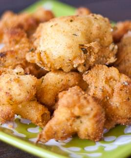 Deep Fried Cauliflower Recipe