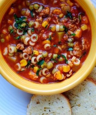 weight watchers minestrone soup