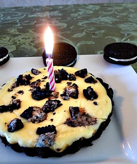 Outstanding Birthday Cake Oreo Cheesecake Tartlet Recipe Personalised Birthday Cards Paralily Jamesorg