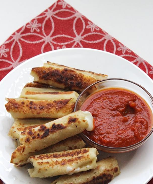 Skinny Mozzarella Stick Recipe