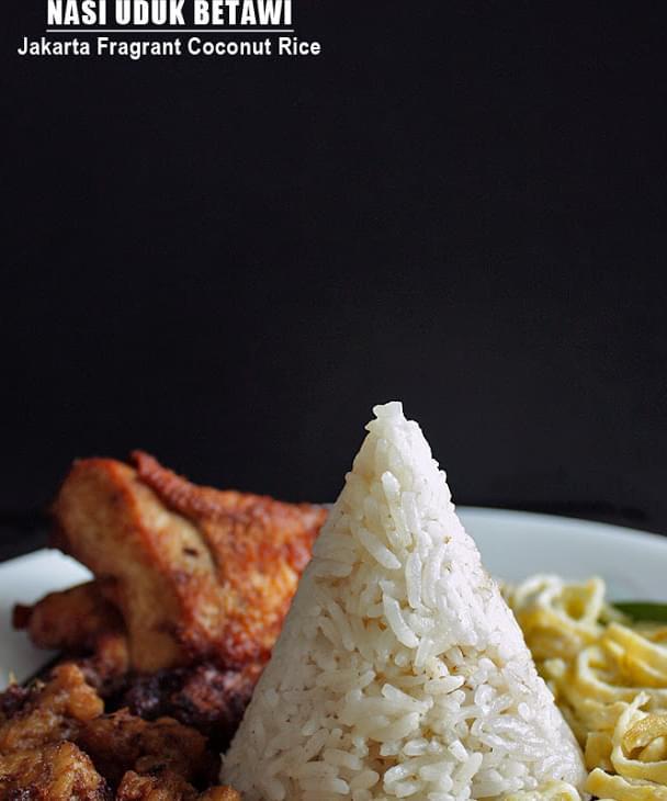 Nasi Uduk Betawi Jakarta Fragrant Coconut Rice Recipe
