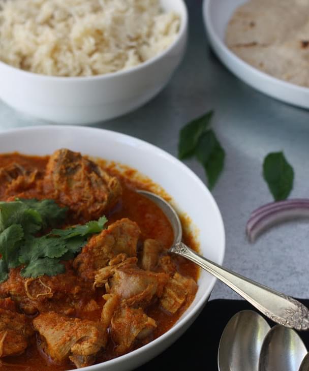 Achari Chicken Chicken Curry Simmered In Pickling Spices