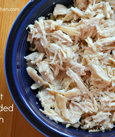 Simply Perfect Shredded Chicken Recipe