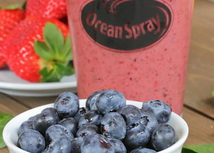 Secret Ingredient Mixed Berry Smoothie