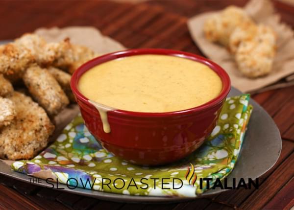 Copycat Wendy's Honey Mustard Dipping Sauce