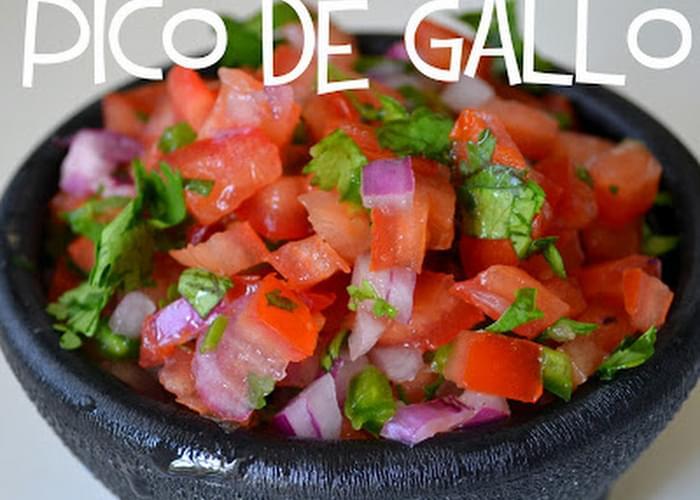Copycat Chipotle-Inspired Pico de Gallo Salsa