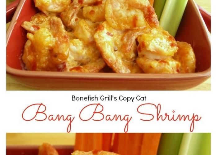 Bonefish Grill's {Copy Cat} Bang Bang Shrimp