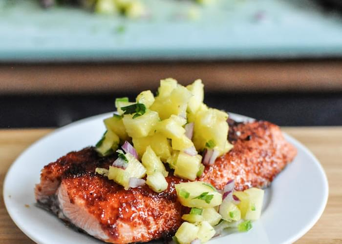 BBQ Spiced Salmon