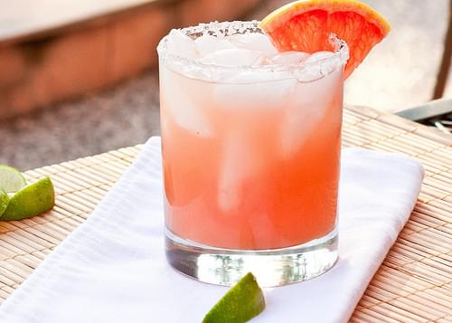 Texas Grapefruit Margaritas