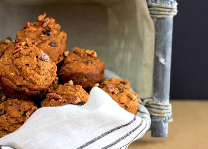 Healthy and Delicious Oatmeal Pumpkin Muffins