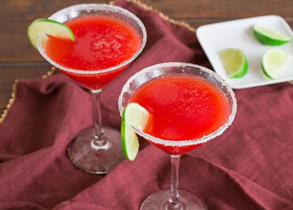 Strawberry Margaritas