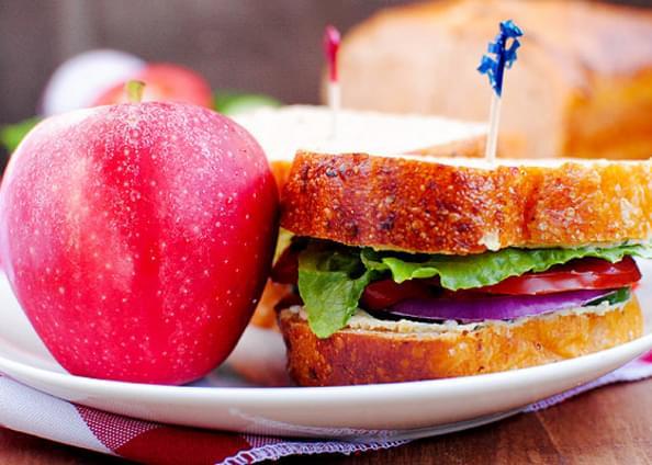 Panera's Mediterranean Veggie Sandwich
