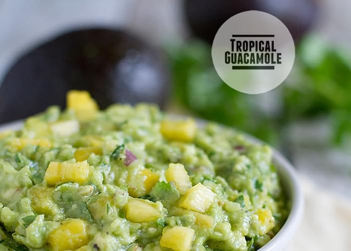 Tropical Guacamole