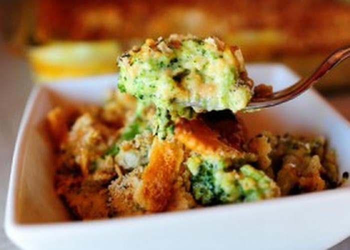 Broccoli Cheese & Cracker Casserole