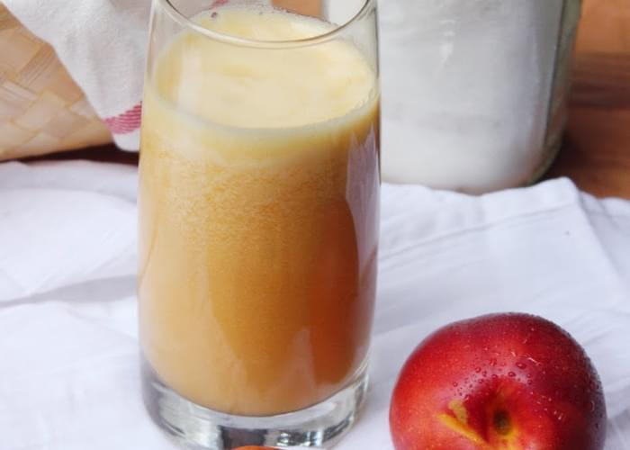 Vanilla Nectarine Agua Fresca