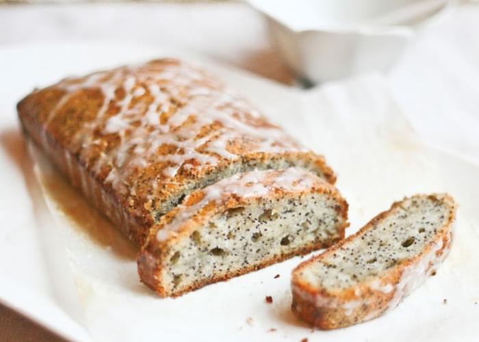 Lemon Poppyseed Loaf (gluten, dairy and egg free Starbucks cake)