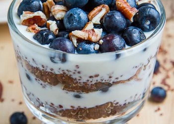 Blueberry Quinoa Parfait