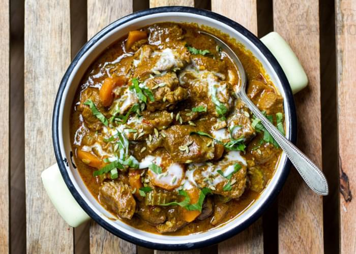 Scrummy Coconut Lamb Curry