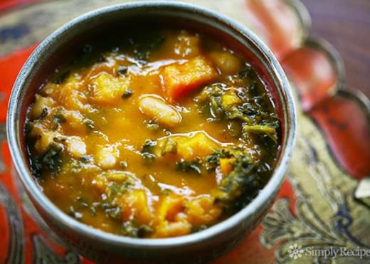 Kale and Roasted Vegetable Soup