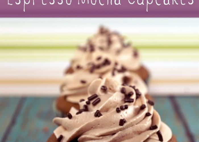 Starbucks Doubleshot Espresso Mocha Cupcakes