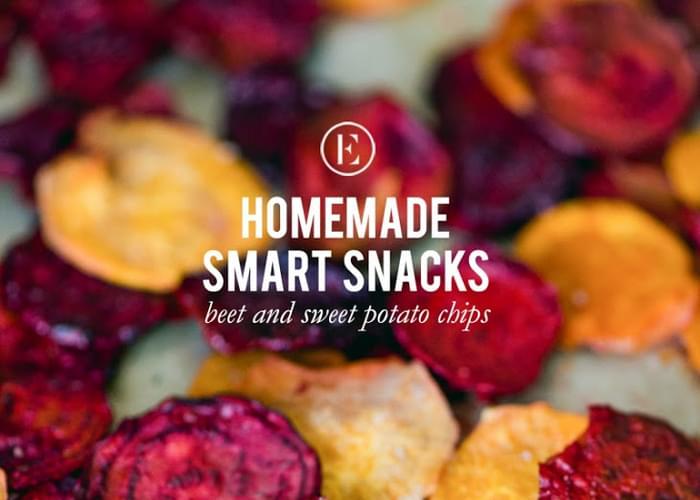 Beet & Sweet Potato Chips