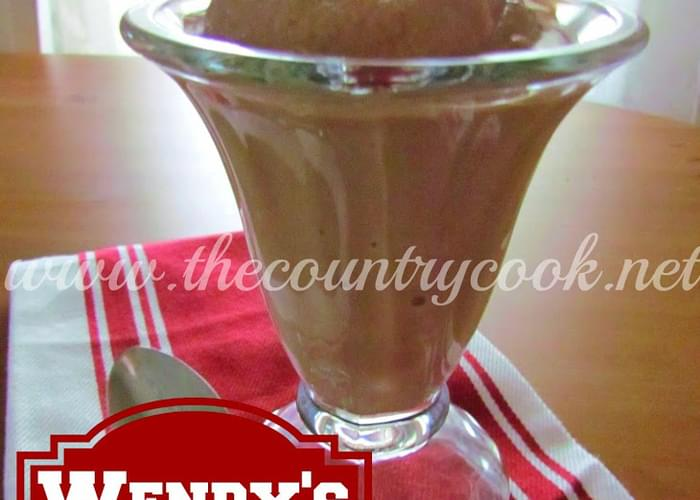 Copycat Wendy's Chocolate Frosty
