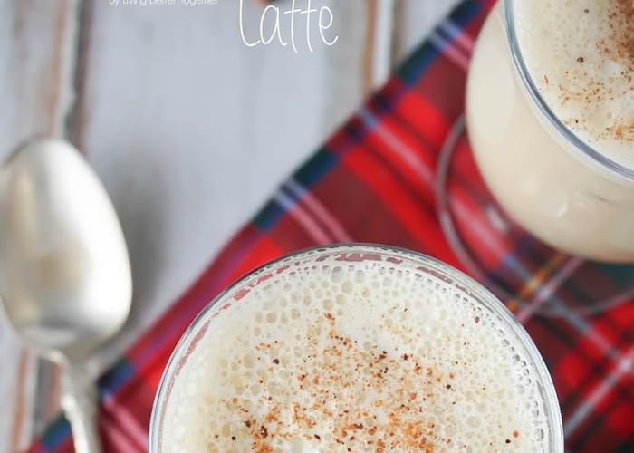 Starbucks Gingerbread Eggnog Latte