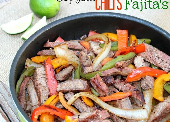 Copycat Chili's Steak Fajita's - These Are Amazing!!!