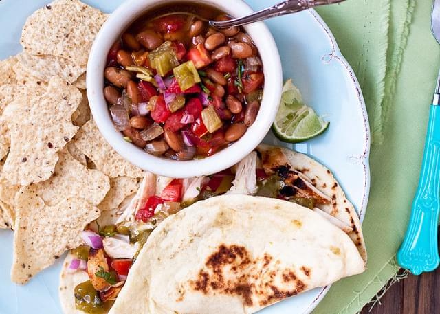 Hatch Chile Borracho Beans
