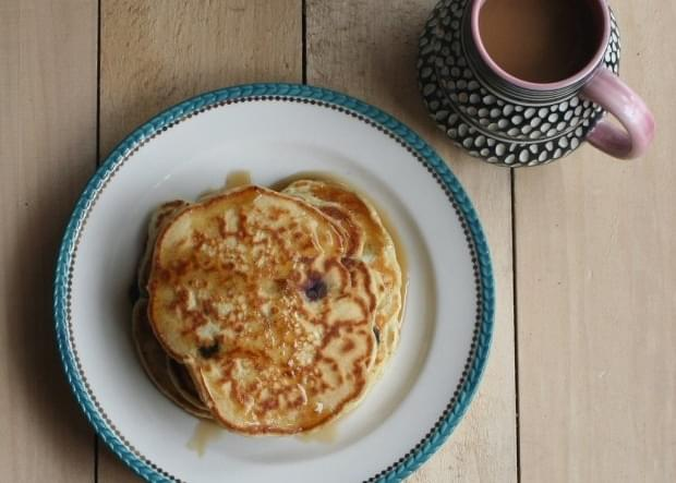 Honey Date Pancakes