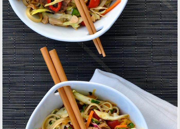Thai Steak & Noodle Salad