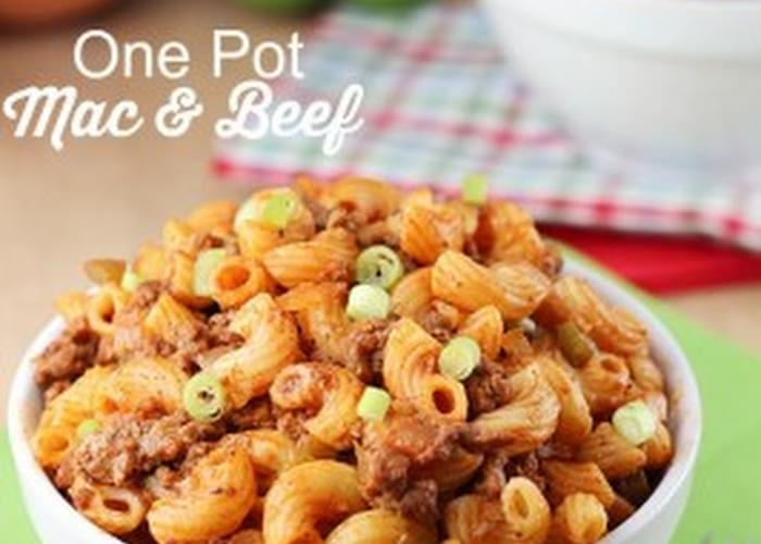 One Pot Mac and Beef