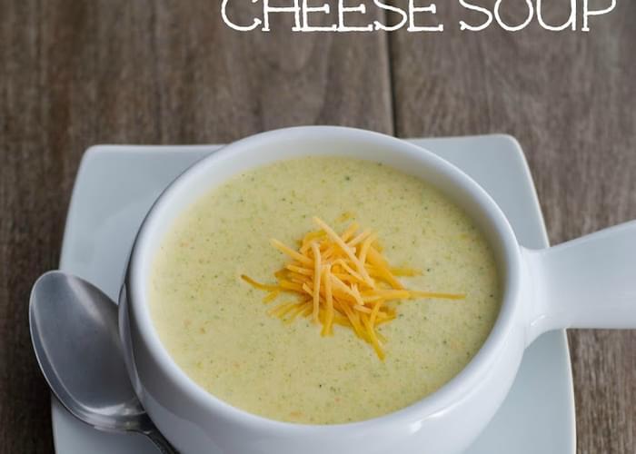 Copycat Panera Broccoli & Cheese Soup